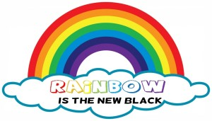 Rainbow is the new black--arch