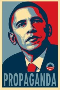 Obama propaganda poster