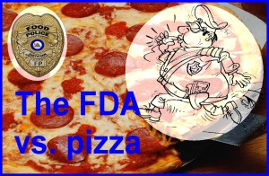 FDA vs pizza