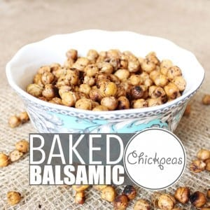 Baked Chickpeas by Of Houses and Trees | Chickpeas are crazy versatile and so is my