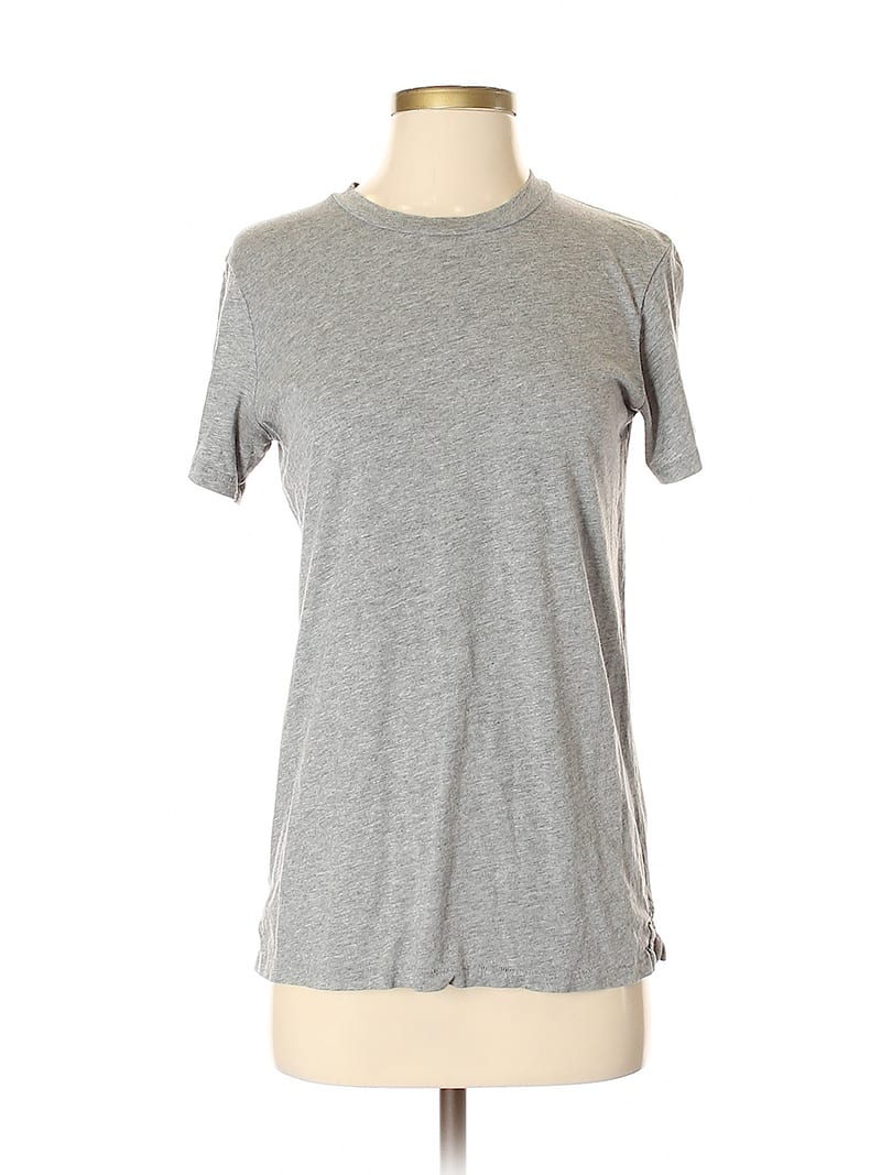The amount of water needed to make one cotton t-shirt equals the amount of water a single person drinks over the course of 900 days. The solution? Don't buy new t-shirts! Online secondhand clothing shops like ThredUp have t-shirts and so much more!