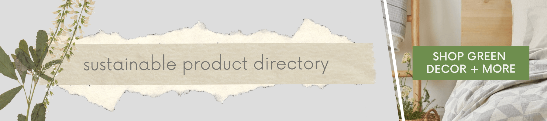 Click to visit the Of Houses and Trees sustainable products directory. Support brands trying to make a difference in the world by purchasing eco-conscious decor, ethical fashion, green gifts and more.
