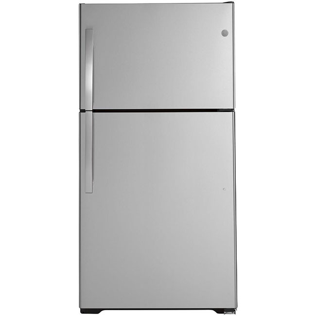 What's an eco-conscious kitchen without an energy efficient fridge? This GE 33