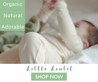 All of Little Lentil's clothes are made from 100% certified organic cotton and can be sent back when they're outgrown.