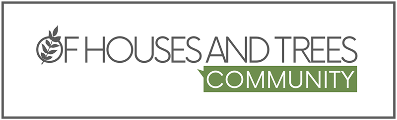 The Of Houses and Trees community is an online green living group for new and long-time treehuggers. Sound like your kind of place? Come in!