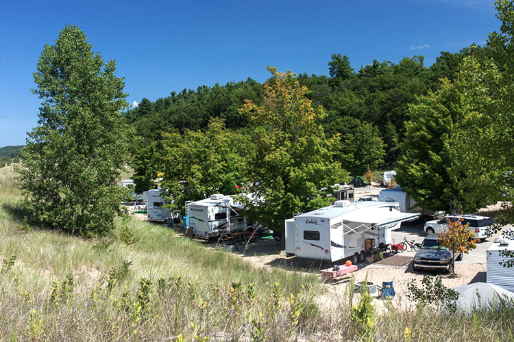 charles mears state park campground pentwater michigan