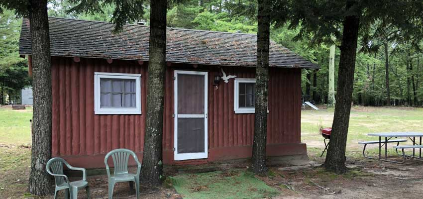 cozy cove cabins for rent in pentwater