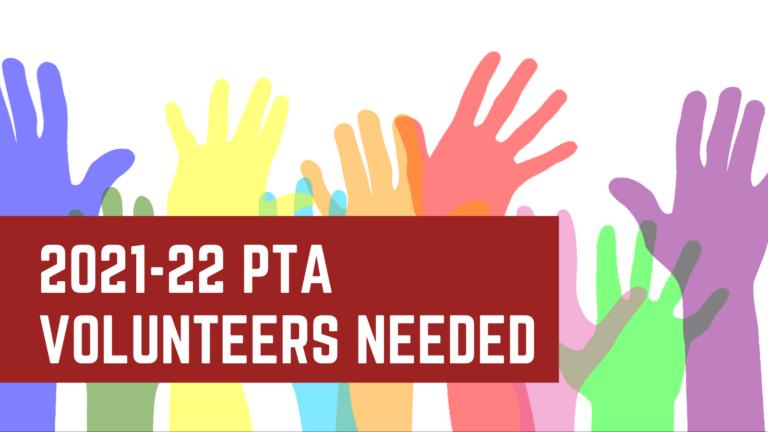 PTA Volunteers Needed