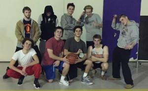 Ignatius students, from left: Liam Jenkins, Andrew Zawie, Matt Szubski, Will Cotton, and Alex Ray. Photo Credit: Andrew Zawie '16