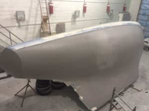 Puffin starboard paint work
