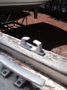 Puffin's original deck clear
