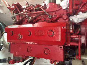 Puffin's Bukh engine