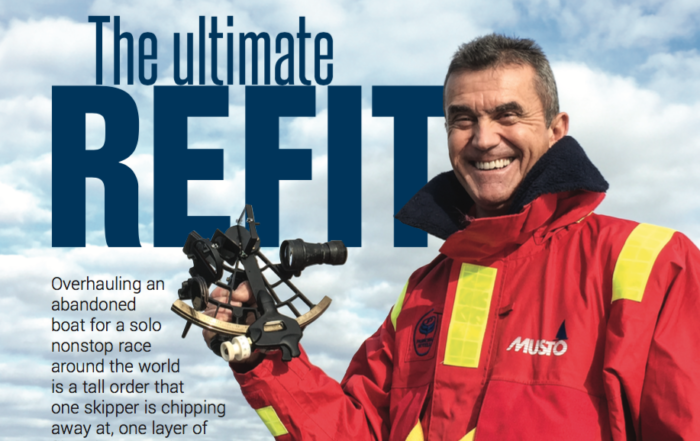 Image from Page 1 of Puffin Refit Article