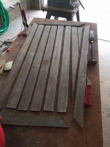 PRP9-03 Second stage of teak restoration