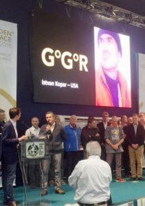 Istvan speaks at 2017 GGR Conference