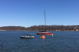 Man Overboard Recovery Drills at Annapolis