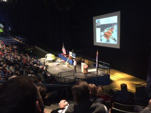 Rich Wilson presenting at Annapolis