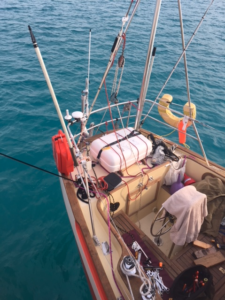 Puffin cockpit in Bermuda