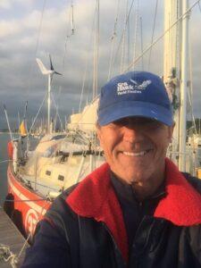 Arrival selfie after the Atlantic crossing