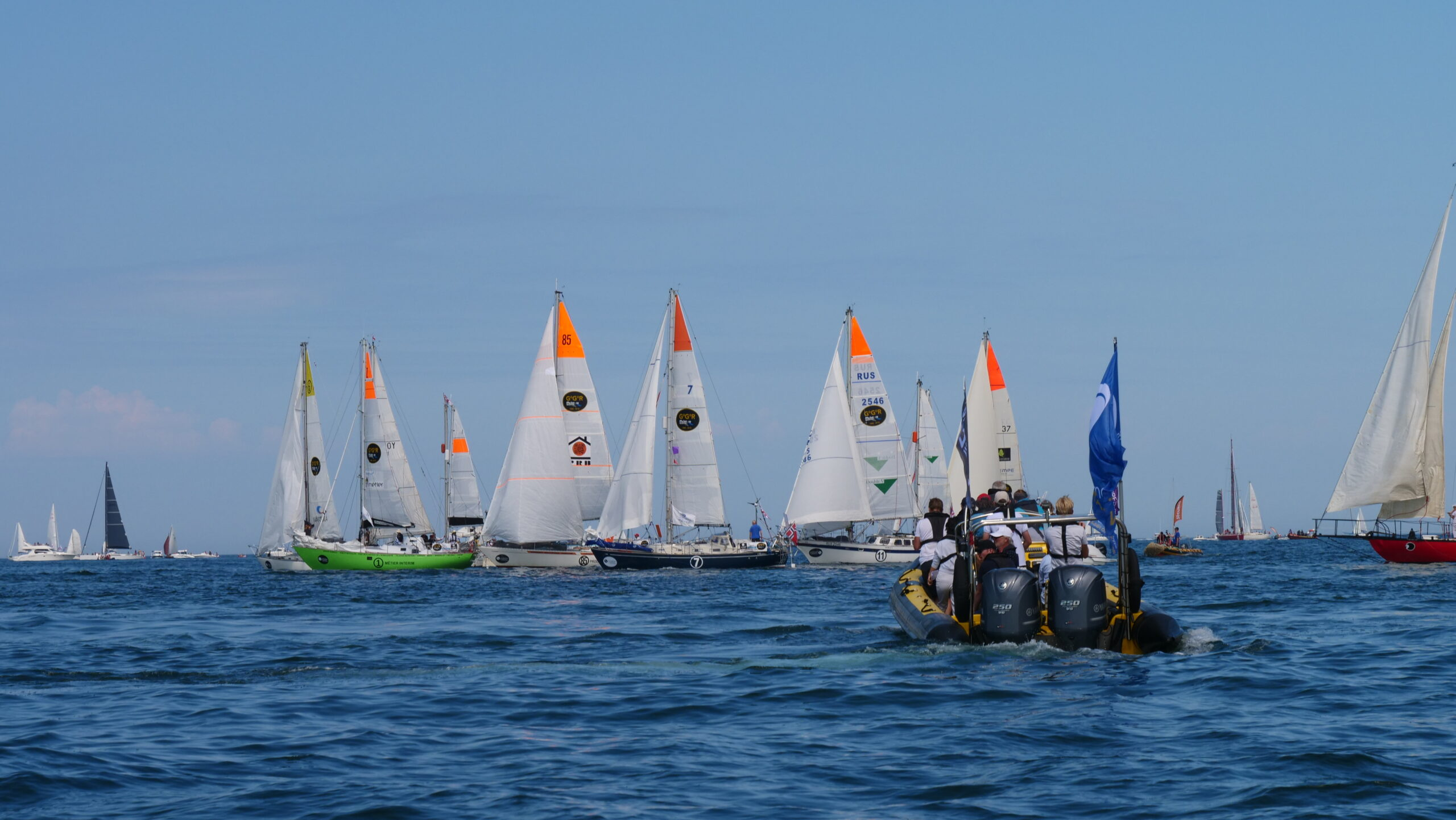GGR 2018, Part 3: Start of the Super Quarantine of a Lifetime—Les Sables-d'Olonne, France