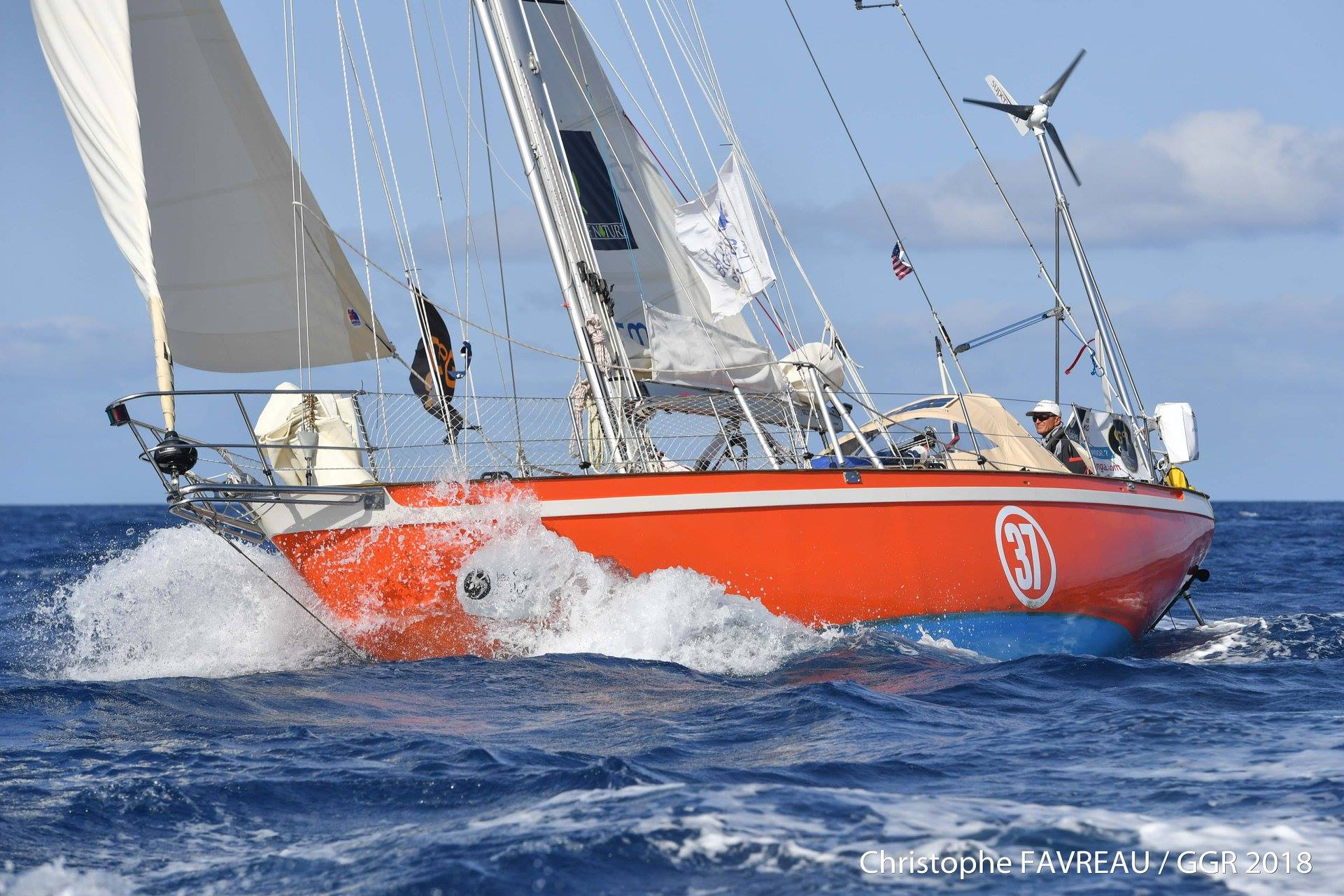 GGR 2018-19, Part 4: The First Leg of the Race—France to Cape Verde
