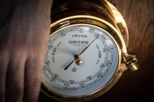 WEMPE sponsored me with both the chronometer and barometer