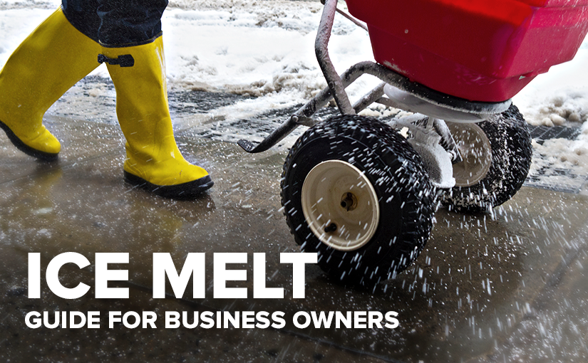 U.S. Standard Products ice melt for businesses
