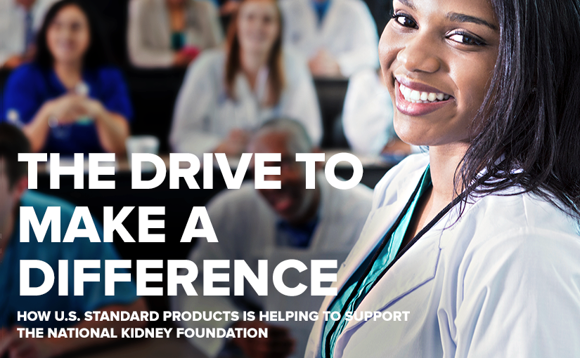 U.S. Standard Products Supports National Kidney Foundation