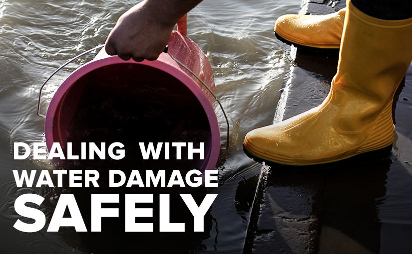 U.S. Standard Products dealing with water damage safely