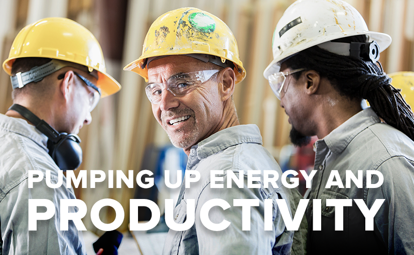 Staying Energized and Increasing Productivity on the Job