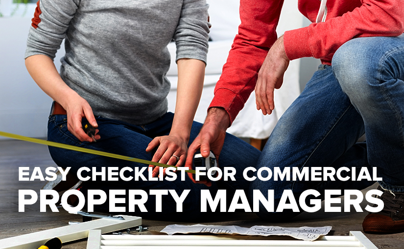 U.S Standard products Checklist for Property Managers