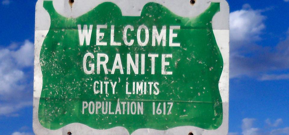 Granite, OK
