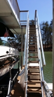 Hot dipped galvanized stairs