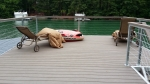 Cable Handrails with composite decking