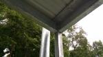 Roof corner joint
