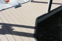 PVC Decking with 45 bracing