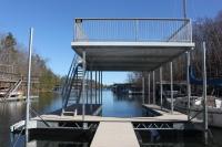 Barjoist custom dock