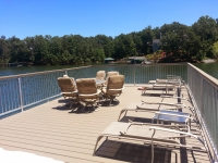 16'x33' sundeck with composite decking