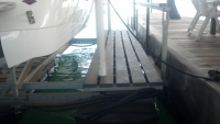 PVC platform on 9000lb Armor Lift