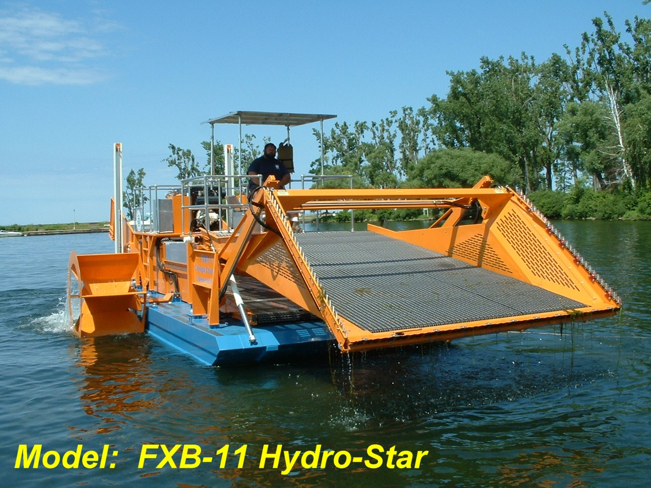 Alphaboats FX-11 Waterweed Harvester