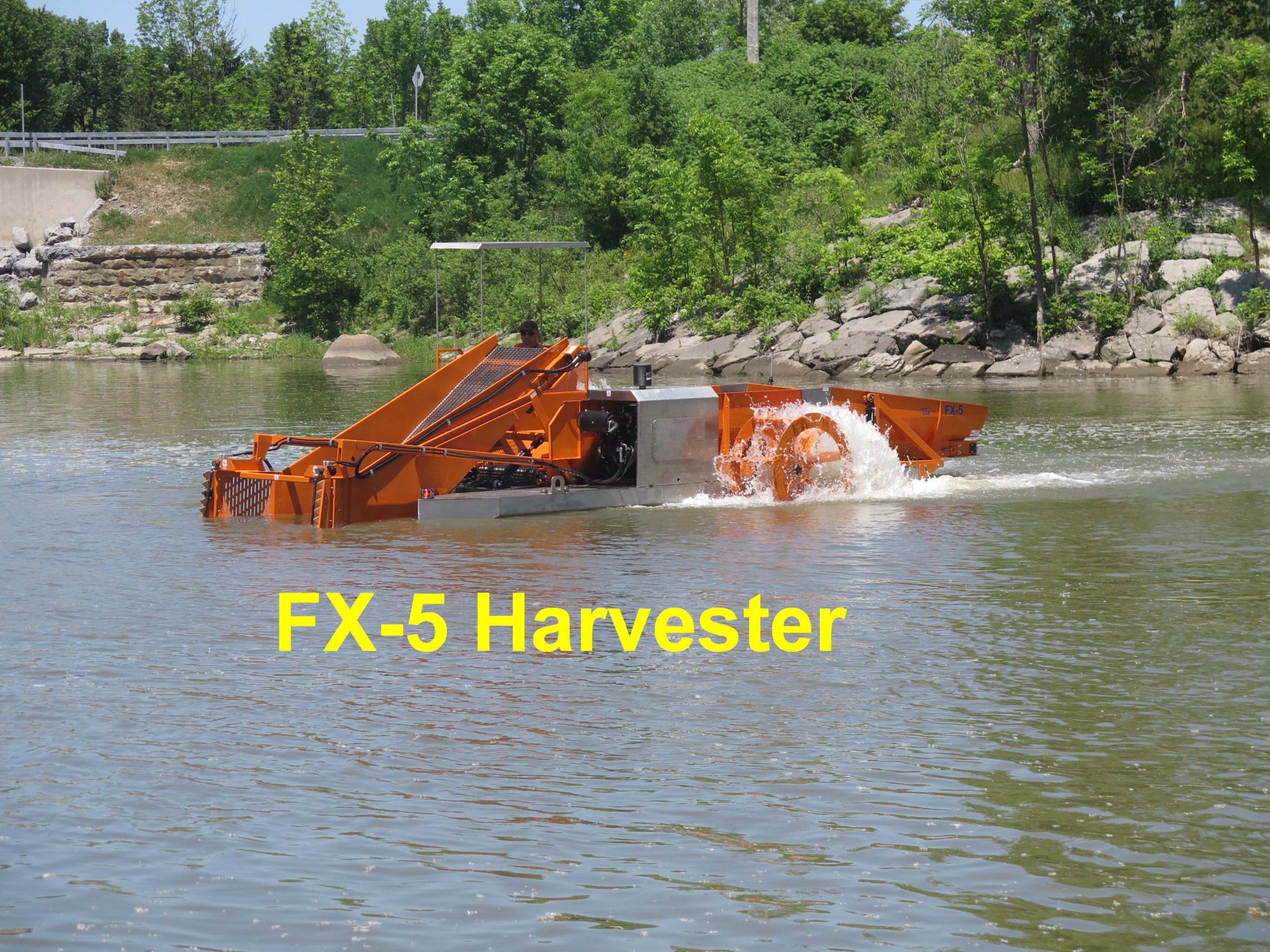Alphaboats FX5 Waterweed Harvester