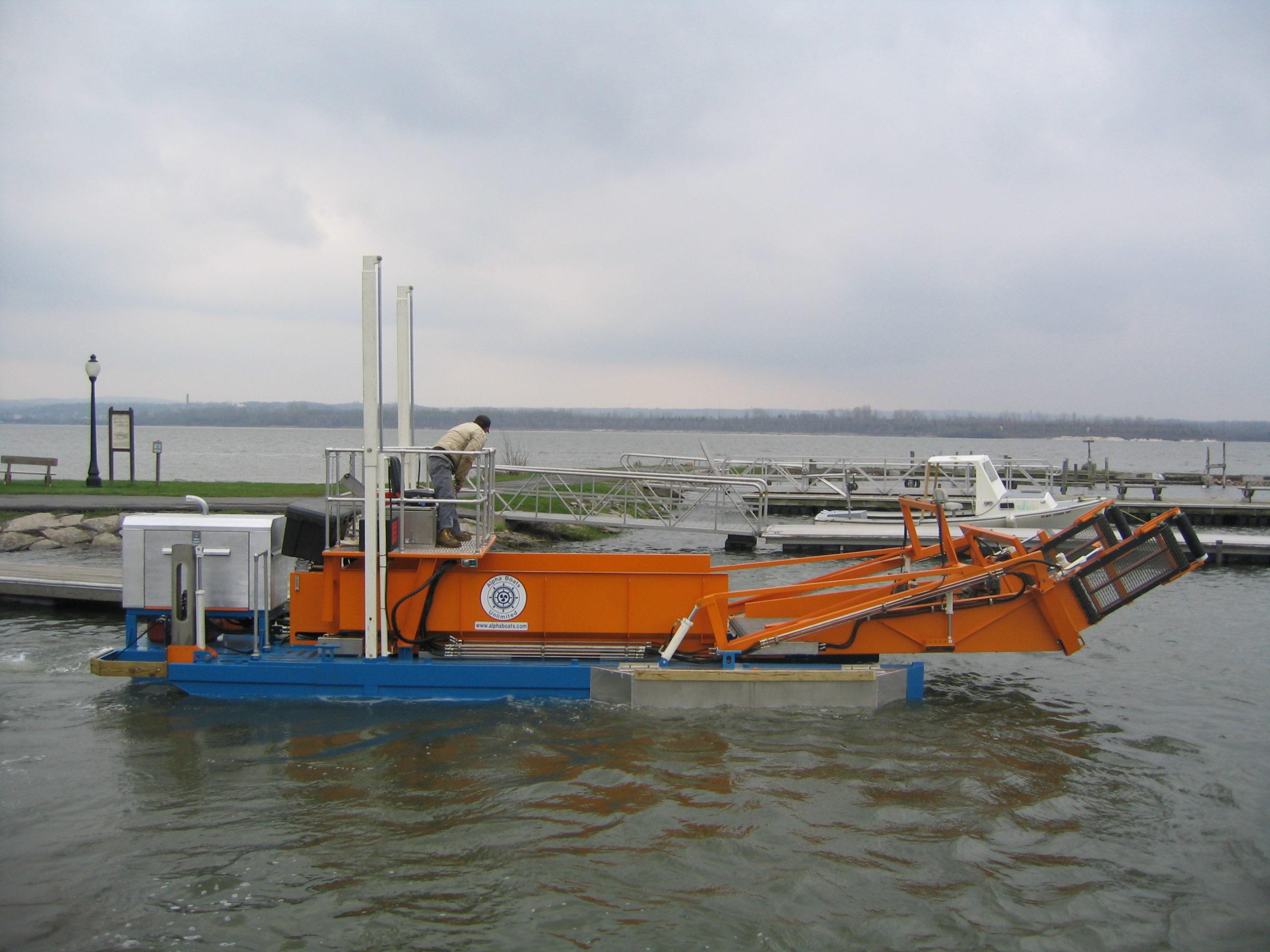 MC 202 in the marina