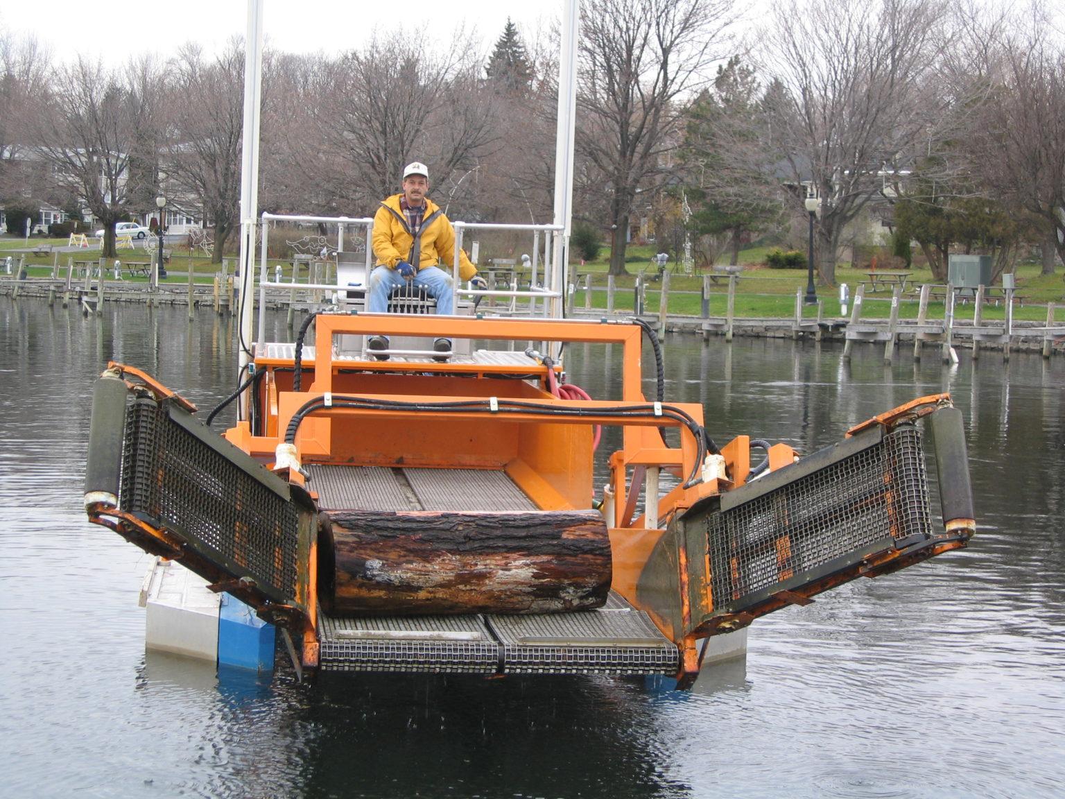 MC 202 picking up debris larger debris