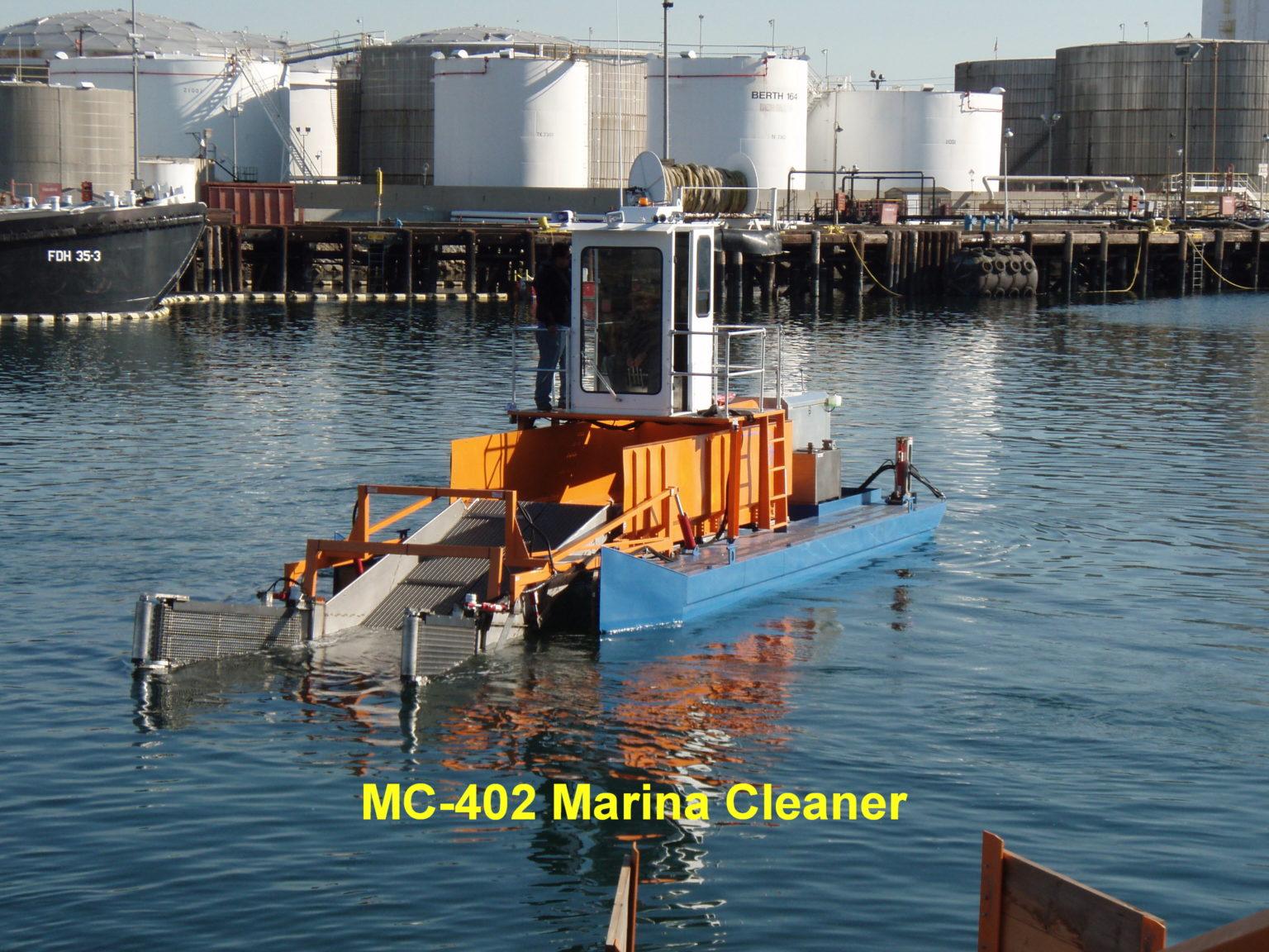MC402 Trash Skimmer / Marina Cleaner
