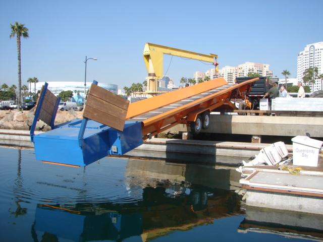 Alphaboats PC6036 Pier Conveyor