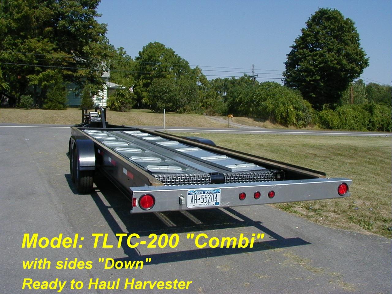Alphaboats TLTC  Combination Trailer and Conveyor