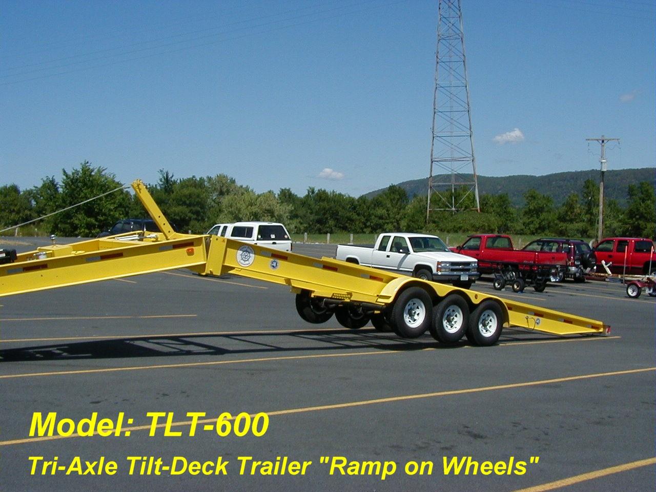 Alphaboats TLT-600 Transport Trailer