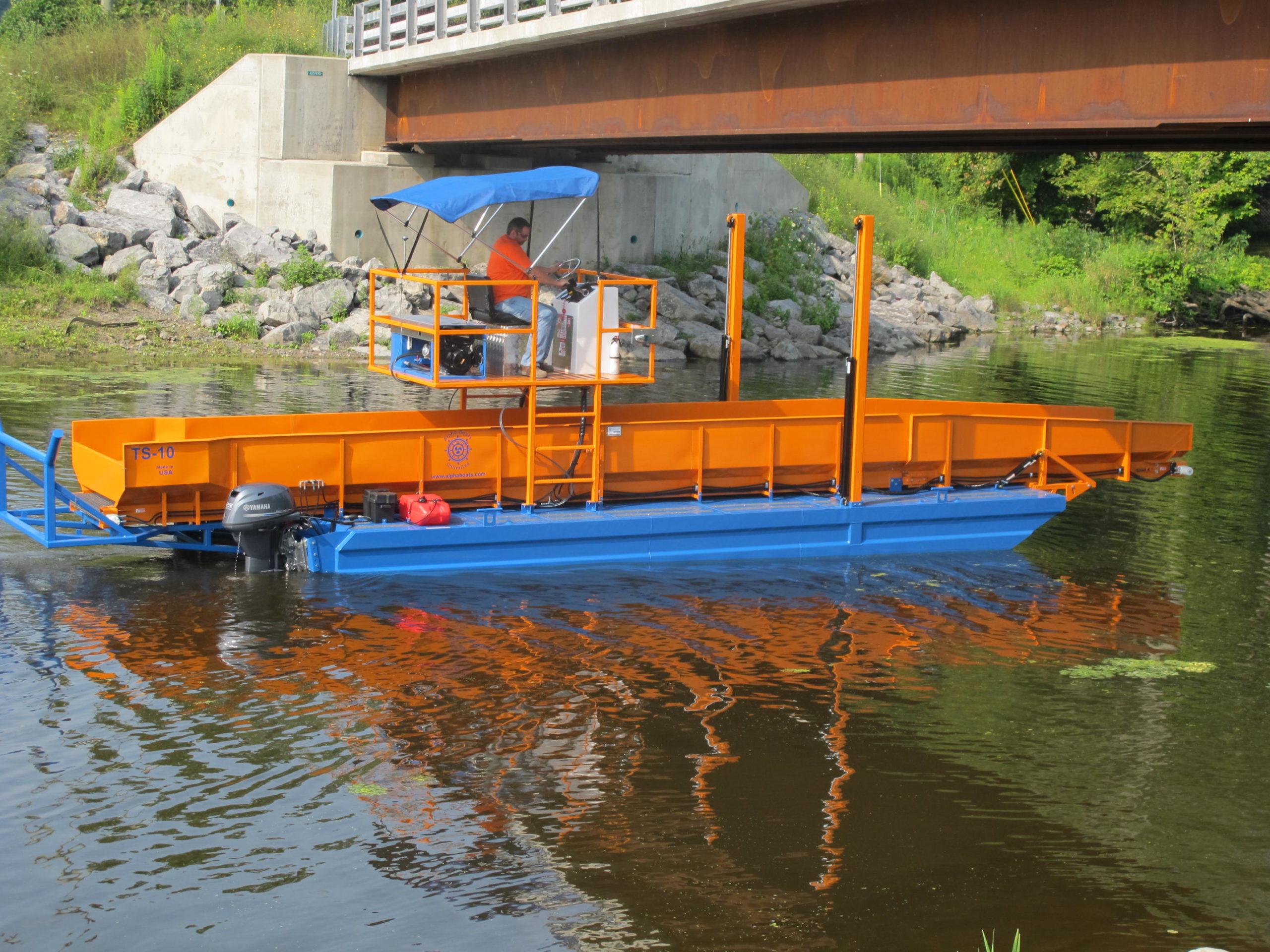 Alphaboats TS10 Transport Barge