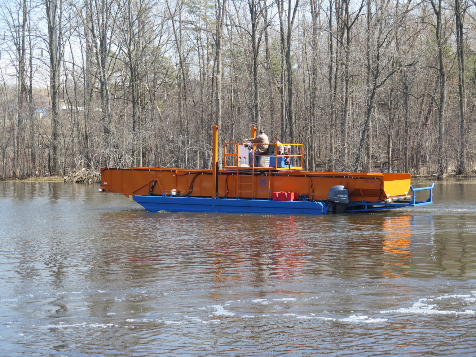 Alphaboats TS18 Transport Barge