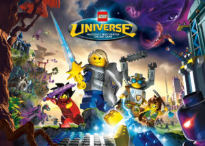 Lego Universe Massively Multiplayer online game front cover
